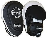 Dynamix Athletics Gel Handpratzen Pro Combat - Leder - Boxen Muay Thai Kickboxen Pratzen Pads Schlagpolster Boxpratzen Boxen Pads