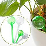 Bewässerungskugeln für Pflanzen, 4 Stück, automatische Selbstbewässerung, große und kleine Kugeln aus PVC, Bewässerungssystem für Garten und Haus