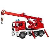 Bruder 02770 - MAN Feuerwehr Kran-LKW mit Light & Sound Modul