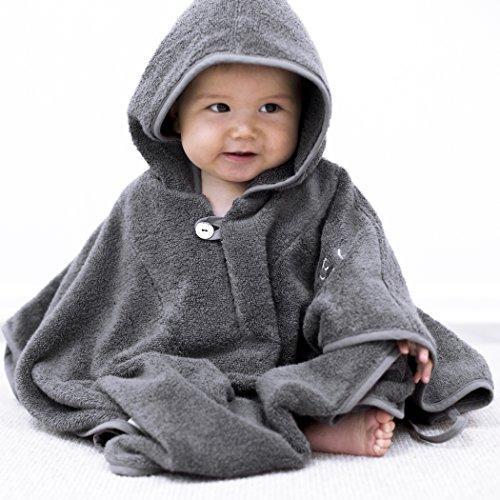 Mabyen  Baby Poncho  Babybademantel  Kapuzenbademantel  Badehandtuch  Bekannt Aus 'Die Höhle Der Löwen'  100% Baumwolle ÖkoTex