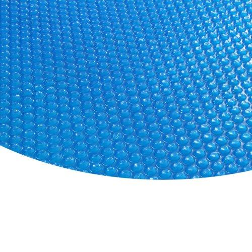 Zelsius - Runde Solarfolie Poolheizung Solarplane , blau - 400µ - 5 Meter Durchmesser