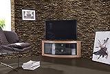 TV-Schrank 'Pangea' - Eckschrank mit gebogener Front, für Fernsehgeräte mit 32-55 Zoll (81-140 cm) von Centurion Supports
