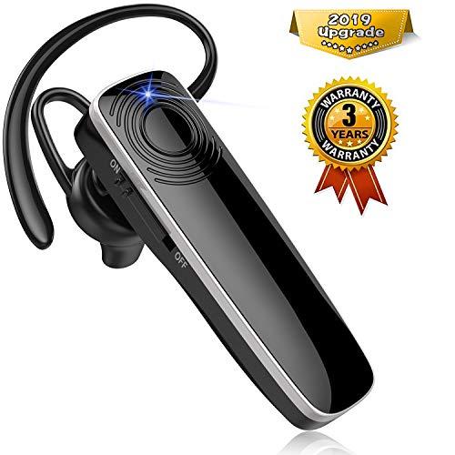 New Bee Bluetooth Headset Handy Ultraleichte kabellose In Ear Bluetooth Headset mit Stereo-Sound Freisprecheinrichtung für iPhone, iPad, Samsung, Huawei