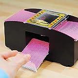 Surenhap Kartenmischmaschine, Kartenspiele elektronische Automatische Kartenmischer Card Shuffler