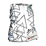 Salzmann 3M Rucksacküberzug, ausgestattet mit 3M Scotchlite, wasserdichter Rucksacküberzug, Regenschutz, Rucksack-Schutzhülle, geeignet für Rucksäcke mit Einem Volumen von bis zu 36 Litern