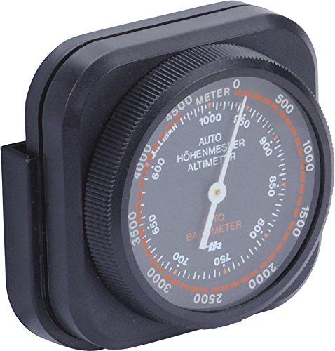hr-imotion Höhenmesser / mobiles Barometer [Kompakt , Selbstklebend , Inkl. Halterung] - 10310501
