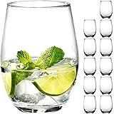 Giessle 12 Wassergläser [ 590 ml groß ] Trinkglas Longdrinkgläser Wasserglas Set