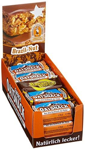 Energy OatSnack, Mix Box - alle Geschmacksrichtungen, natürliche Riegel - von Hand gemacht, 3 x 70 g und 12 x 65 g, 1er Pack (1 x 990g)
