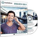 AudioNovo Englisch I – II: Schnell und einfach Englisch lernen mit dem Audio-Sprachkurs für Anfänger und fortgeschrittene Anfänger (2 CDs à 720min MP3-Audio, Sprachkurs Englisch)