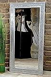 Livitat Wandspiegel 100 x 50 cm Spiegel Mosaik Badspiegel mit Glasmosaik Crackle