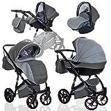 Kombi Kinderwagen 3in1 Baby 0-36 Monate Komplett Set GT one | Luftreifen Komfort Pannenfrei Garantie