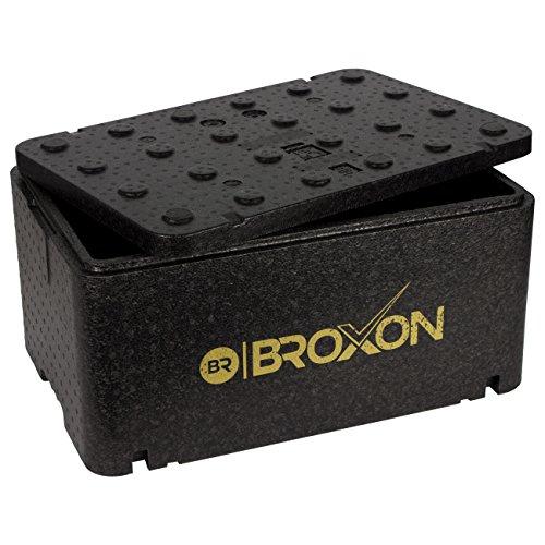 Therm-Box Profibox GN1 | Innen: L/B/H: 54,3x34,5x24cm | Wand: 2,5cm | Volumen: 46,45 Liter | Styroporboxen Isolierbox Thermobox Warmhaltebox groß