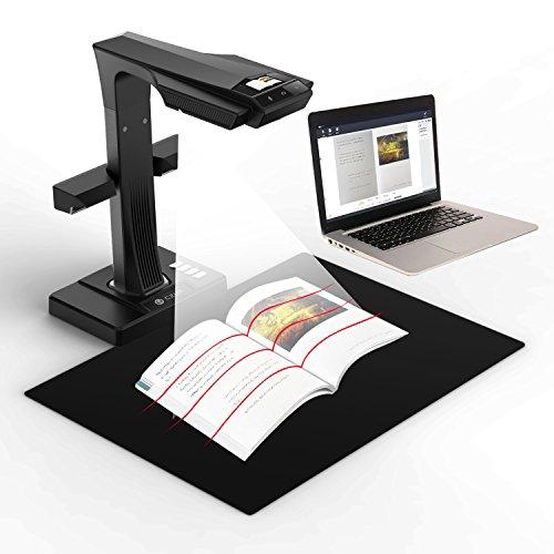 CZUR ET16 Plus Scanner mit Einknopf-Bedienung Dokumentenscanner für Bücher Dokumente Materialien Bilder