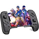 Android Controller, BEBONCOOL IOS Controller Mobile Controller für iPhone, Wireless Gamepad Handy Controller für Android/IOS, Wireless Controller für PUBG Mobile/Fortnite/Arena of Valor/Knives Out