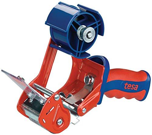 tesa Packband Handabroller, Modell 'Comfort' für Rollen bis 66m x 50mm
