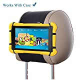 TFY Universell Auto Kopfstützen Halterung für 7-10.5 Zoll Fire Tablets