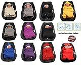 Einschlagdecke für die Babyschale Fußsack für kalte Tage in verschiedenen Farben von HOBEA-Germany
