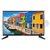 MEDION E12815 69,9 cm (27,5 Zoll) HD Fernseher (HD Triple Tuner, DVB-T2 HD, integrierter DVD-Player, CI+, Mediaplayer)