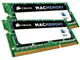 Corsair CMSA16GX3M2A1600C11 Apple Mac 16GB (2x8GB) DDR3 1600Mhz CL11 Apple Zertifizifiert SO-DIMM Kit