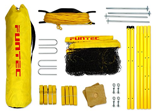 Funtec Fun Sports Set - Beachvolleyball- und Multisport-Set