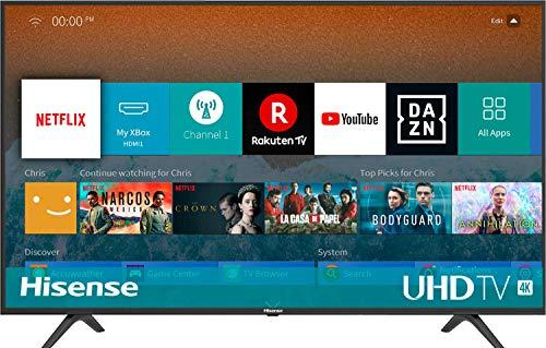 Hisense H55BE7000 138 cm (55 Zoll) Fernseher (4K Ultra HD, HDR, Triple Tuner, Smart-TV)