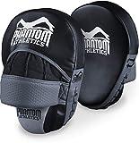 Phantom Athletics Handpratzen - Profi Pratzen Set für Kampfsport Trainer und Coach - Schlagpolster im Paar für MMA, Boxen, Muay Thai und Kickboxen - Focus Pads - 2 Stück