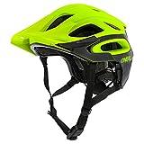 O'Neal Orbiter II Solid Fahrrad Mountain Bike Helm MTB Enduro Trekking BMX Skate Rad Sport, 0616, Farbe Neon Gelb, Größe M/L