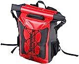 Semptec Urban Survival Technology Semptec Wasserfester Rucksack: Wasserdichter Trekking-Rucksack aus LKW-Plane, 20 Liter, IPX6 (Kurier-Rucksack)