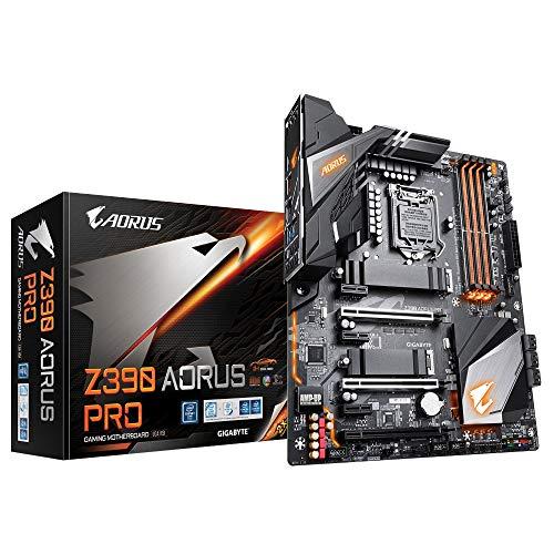 Gigabyte Z390 AORUS PRO Sockel 1151/Z390 DDR4-Mainboard, Schwarz