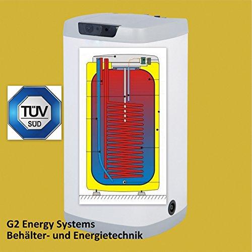 125 Liter L indirekt beheizter Warmwasserspeicher Boiler Standspeicher