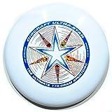 Discraft Ultra Star 175g Ultimate Frisbee 'Starburst' - white