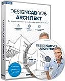 FRANZIS DesignCAD 3D MAX V26 Architekt Software|Architekt|3 Geräte|-|Für Windows PC|Disc|Disc