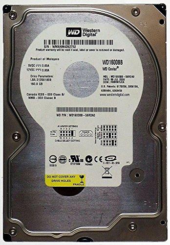 160GB HDD Western Digital Caviar WD1600BB IDE ID12920