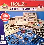 Playland Holz Spielesammlung mehr als 100 Spielmöglichkeiten 20 Spiel Klassiker