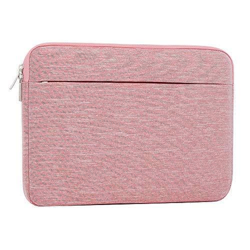 A Tailor Bird Laptoptasche, Laptophülle 15,6 Zoll stoßfest Notebooktasche Laptop Schutzhülle Notebook Sleeve Hülle PC Laptop Schutztasche(Rosa)