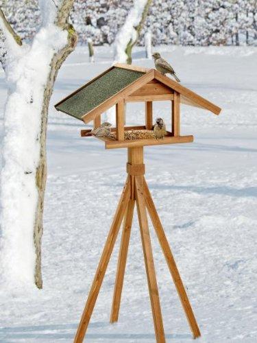 Karlie Bird'S World Wild Vogelhaus Remo 66 x 47 x 144 cm, Naturholz