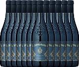 12er Paket - Doppio Passo Primitivo Salento IGT 2017 - Casa Vinicola Carlo Botter | halbtrockener Rotwein | italienischer Wein aus Apulien | 12 x 0,75 Liter