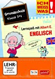 Ich weiss was!: Englisch - Grundschule Klasse 3 + 4 - Lernspaß mit Albert E.