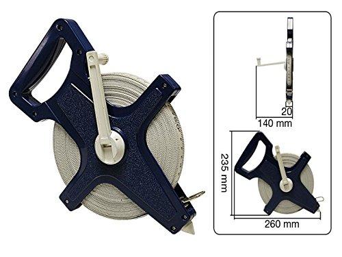 Maßband 50m Fiberglass Rollbandmaß Bandmaß 3165