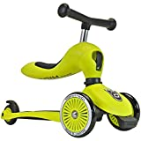 Scoot & Ride Highwaykick 1 lime Scooter mit Sitz 96204