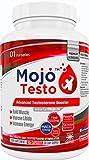 MOJO TESTO Testosteron booster   Testo Booster   Erhöht den Testosteronspiegel   Bockshornklee   Tribulus Terrestris   L-Arginin und MACA