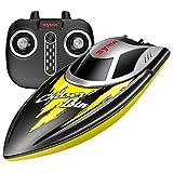 SYMA RC Boot Schnell Boot 2.4GHz Fernbedienung Spielzeug High-Speed Racing Boot mit Starke Kraft für Anfänger und Kinder