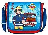 Undercover Kindergartentasche, Feuerwehrmann Sam, Circa 21 x 22 x 8 Kinder-Sporttasche, 22 cm, Rot