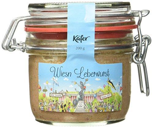 Feinkost Käfer Wies`n Leberwurst, 1er Pack (1 x 200 g)