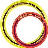 Aerobie Pro Wurfring Sprint Frisbee Ring Wurfspiel Set Pro Sprint Ring (Gelb / Orange)