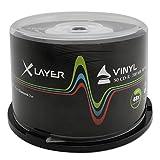 Xlayer CD-R 80 Vinyl-Look CD-Rohlinge (50er Pack)