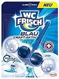 WC Frisch Kraft-Aktiv Blauspüler Chlor Paket, 10er Pack (10 x 50 g)
