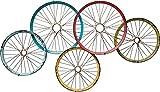 Kare Design Wandgarderobe Wagon Wheels Bunt