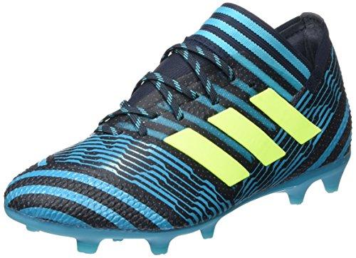 adidas Unisex-Erwachsene Nemeziz 17.1 FG Sneaker, Mehrfarbig (Indigo 001), 38 EU