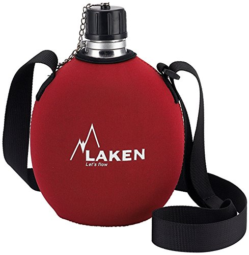 Laken Clasica 1 Liter Trinkflasche Canteen Rot ref 121FR